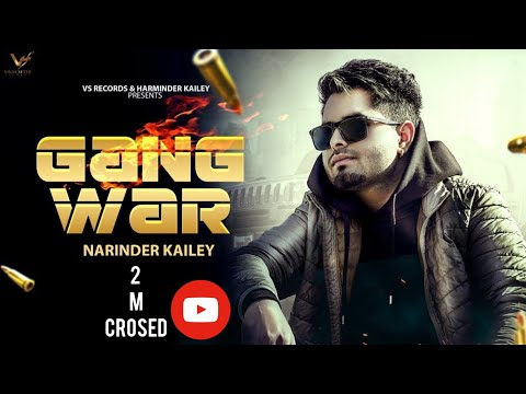 GANGWAR - Narinder Kailey Ft. Banka | Randy J | Official Music Video | New Punjabi Songs  VS Records