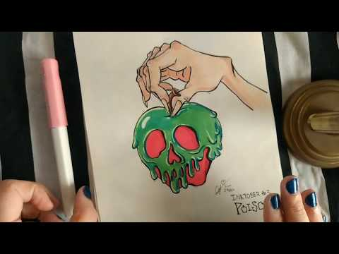 Colorful Inktober Sketchbook Tour! [Part 1]