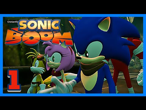 Sonic Boom El Ascenso de Lyric - » Parte 1 OPENING « - Español Wii U [HD]