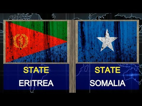 ERITREA VS SOMALIA  - Total Comparsion and Statistics