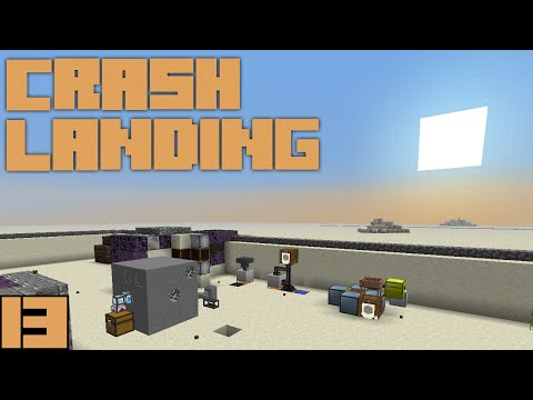 Minecraft Crash Landing - Automatic Ore Sifting [E13]