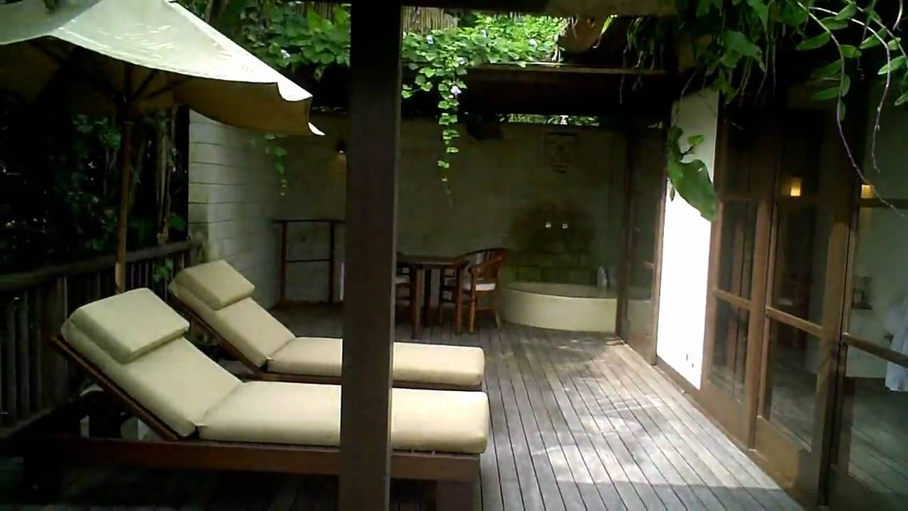 our villa at bali ubud hanging gardens resort youtube