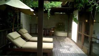 Our villa at Bali Ubud Hanging Gardens resort