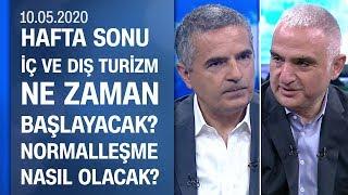 Turizm Bakanı Ersoy anlattı: Normalleşme planı ve tesislerin sertifikasyonu - Hafta Sonu 10.05.2020