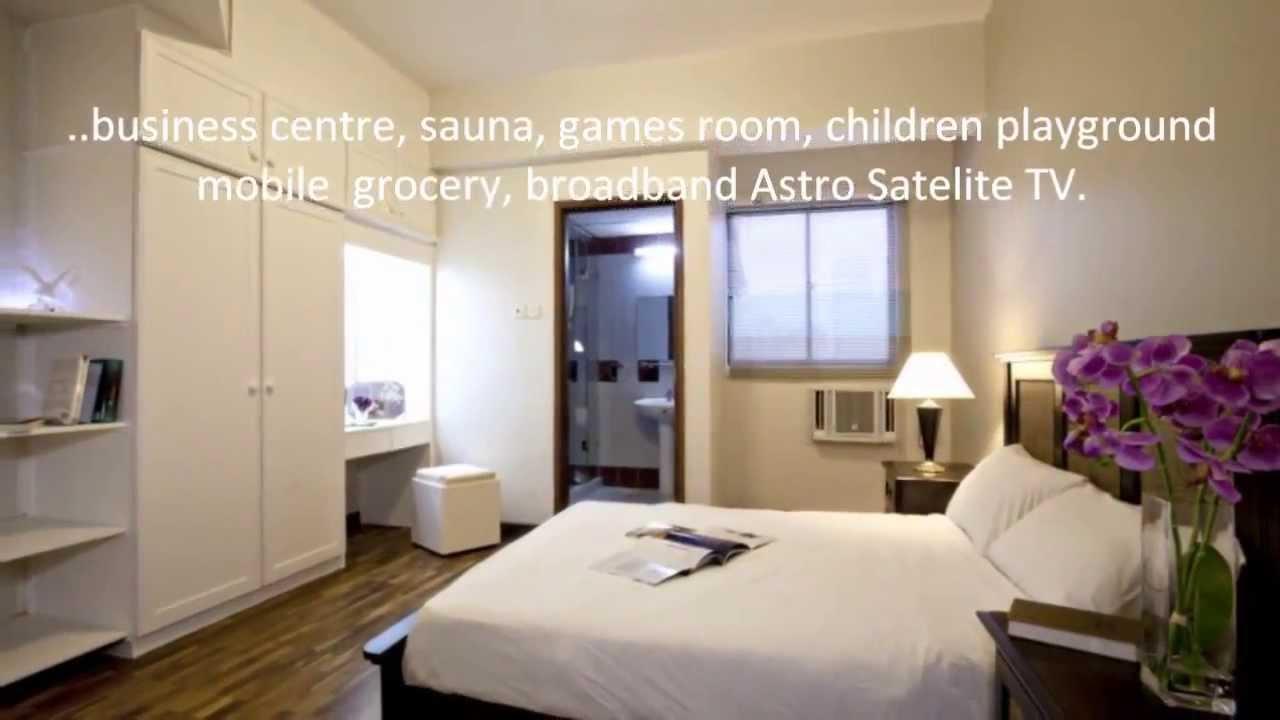 menara pinang 1 1 bedrooms apartment fully furnished for rent youtube