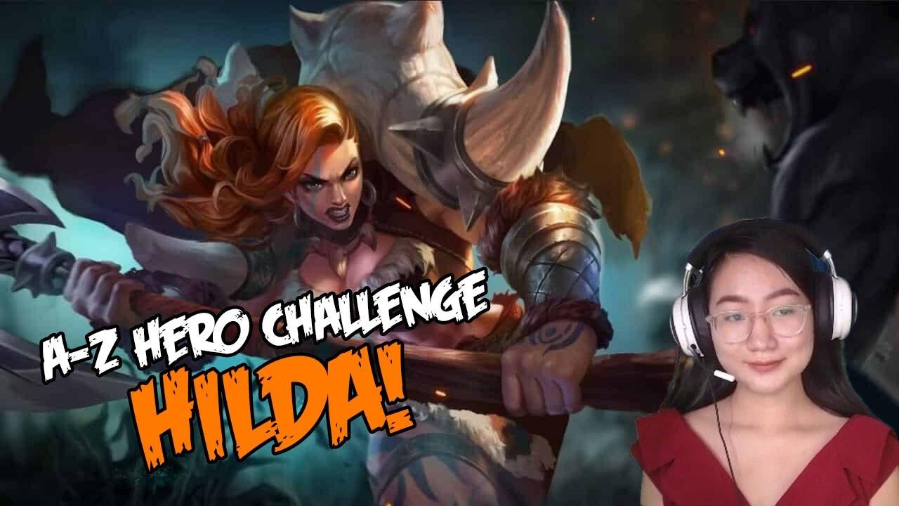 A-Z Hero Challenge   Hilda until I Win in Rank!