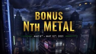 DCUO Bonus Nth Metal Week