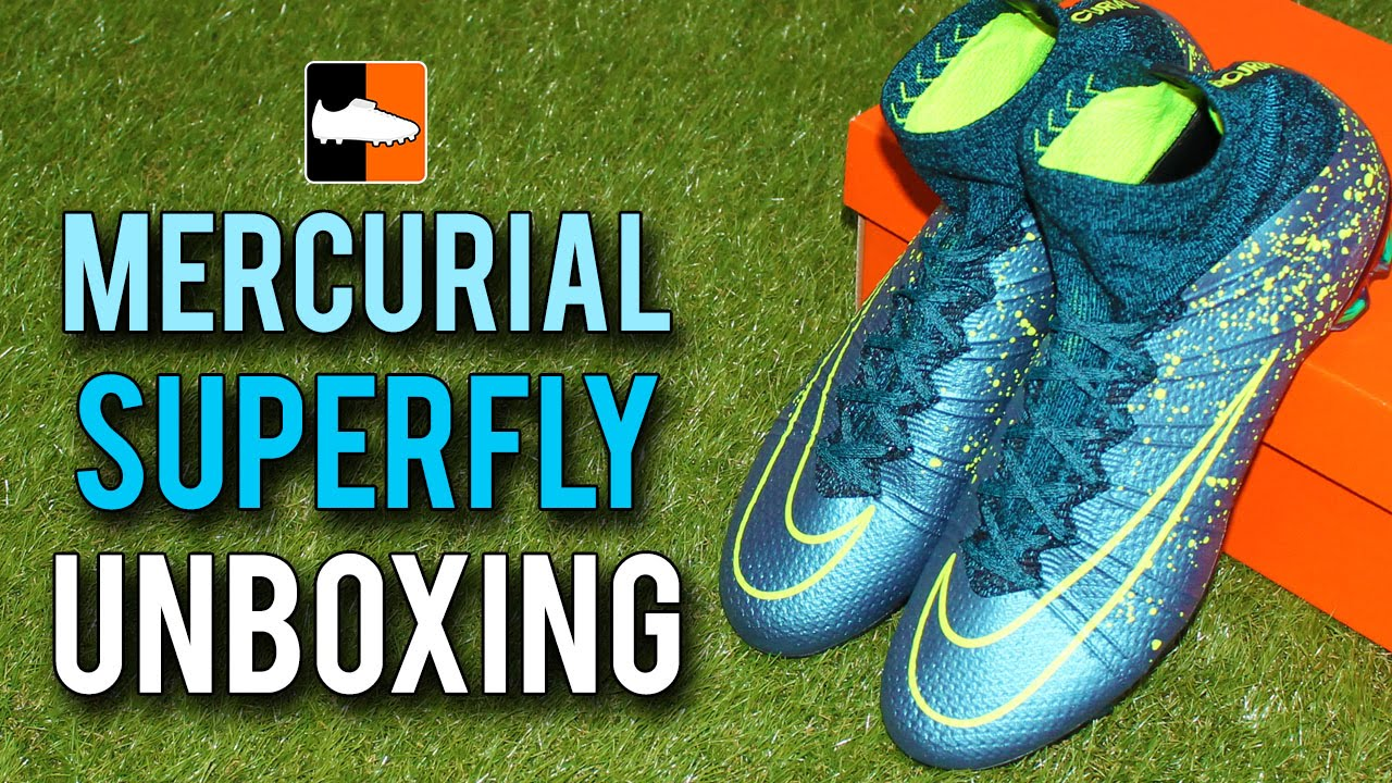 68f389611a9 Electro Flare Mercurial Superfly IV Nike Boots Unboxing - YouTube