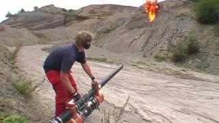 Potato Cannons with Gasoline/Molotov Firebomb Ammo!