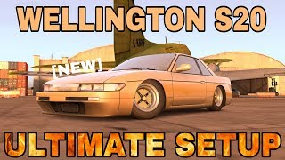 Wellington S20 Ultimate Setup (Nissan Silvia S13) | CarX Drift Racing King Of JDM