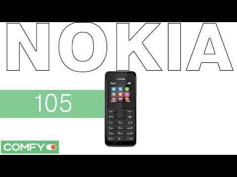 Nokia 105 - простой и недорогой телефон - Видеодемонстрация от Comfy.ua