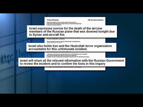 Israel atribui responsabilidades a Assad e Hezbollah