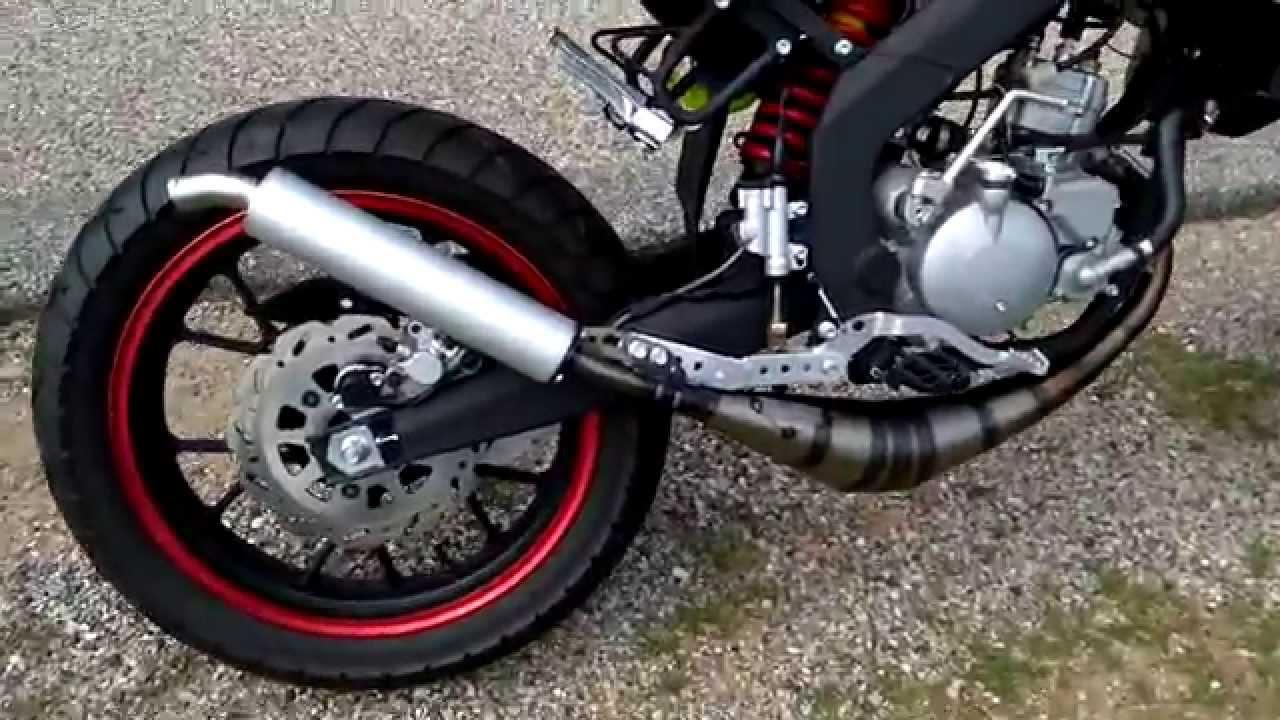 bruit yasuni r2 speedcool sc3 moteur derbi