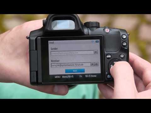Samsung NX20 - WiFi Funktionen