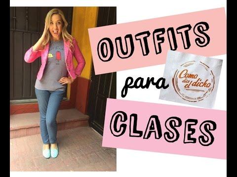¿Qué me pongo para ir a clases? Ft. COMO DICE EL DICHO - outfits con jeans - #mafconsejos