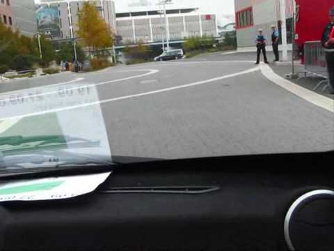REVA NXR electric car - first test drive