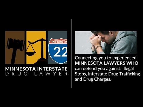 Minnesota Interstate Drug Lawyer Trailer