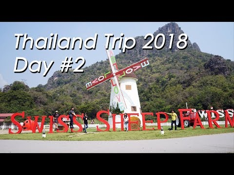 Thailand Trip | Day #2 | Santorini Park - Swiss Sheep Farm - Venezia - Asiatique