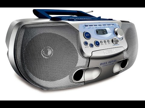Магнитола с CD Philips AZ1226