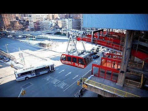 Aerial Tramway Roosevelt Island - New York - USA (2010)