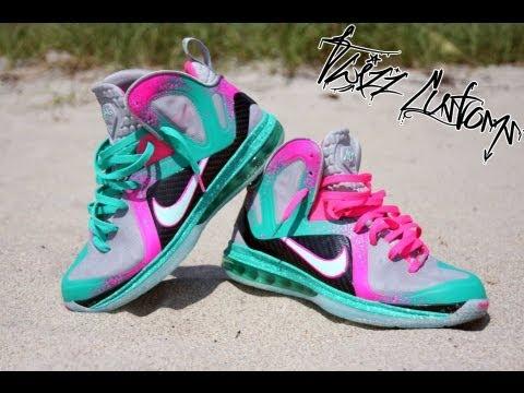 Cheap 2015 Nike LeBron 11 Cheap sale Vice City Customs