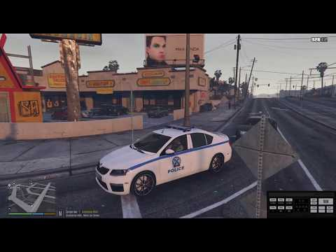 GTA 5 LSPDFR GREEK POLICE DEPARTMENT(E.A.)EP #36 GTA 5 PC POLICE MODS LIVE