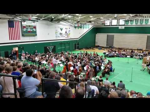 Twality Middle School 6th grade strings 05.18.2017