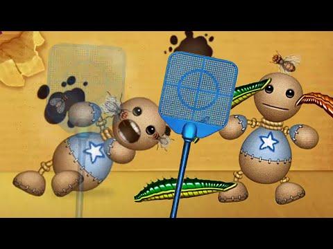 Leech Fly Swatter ATTACK vs The Buddy | Kick The Buddy