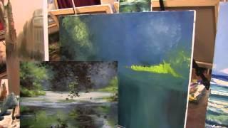 Уроки рисования маслом, научиться рисовать, Сахаров