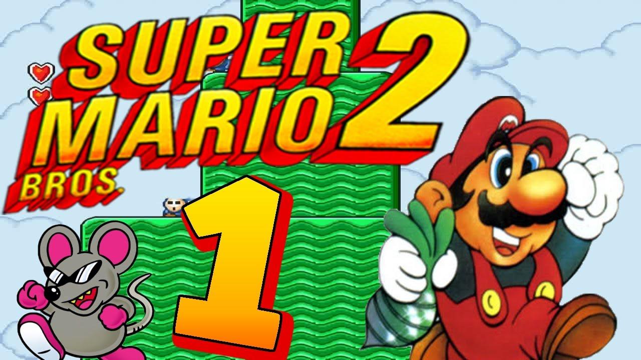Let S Play Super Mario Bros 2 Part 1 Yume Kōjō Doki Doki Panic