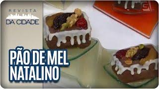 Pão de Mel Natalino - Revista da Cidade (18/10/2016)