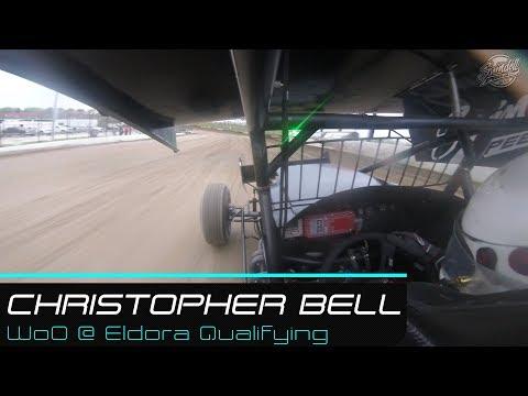 Christopher Bell | WoO @ Eldora Qualifying Cockpit | 5.11.19