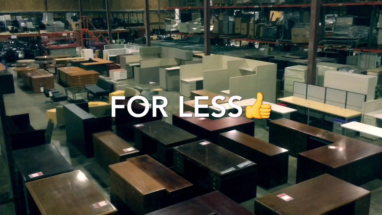 Pre Owned Office Furniture Inventory Youtube