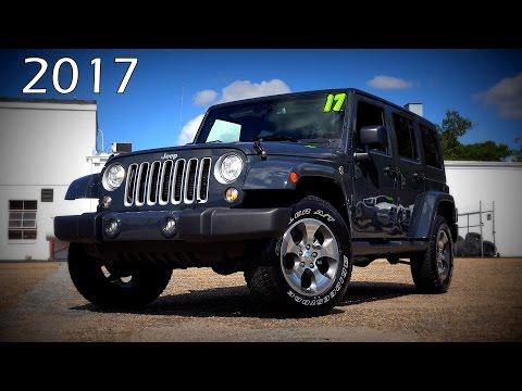 2017 Jeep Wrangler Unlimited Sahara  - Ultimate In-Depth Look in 4K