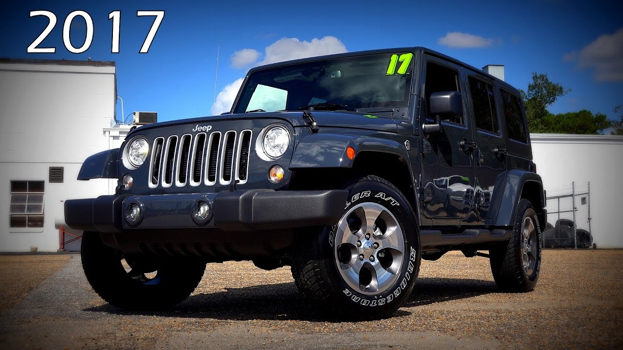 2017 Jeep Wrangler Unlimited Sahara Ultimate In Depth Look 4k You