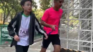 Publication Date: 2019-12-14   Video Title: 初中視障中學生與少數族裔DSE畢業生領跑員一起跑出光明前路