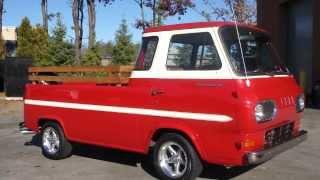 1962 Econoline Pickup For Sale~Straight 6~3 on Tree~Original Florida Car~Fantastic Condition