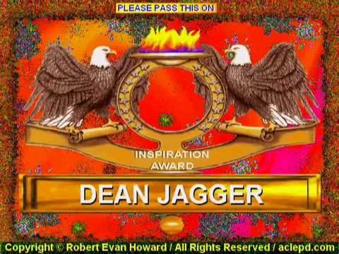 Dean Jagger inspiration award