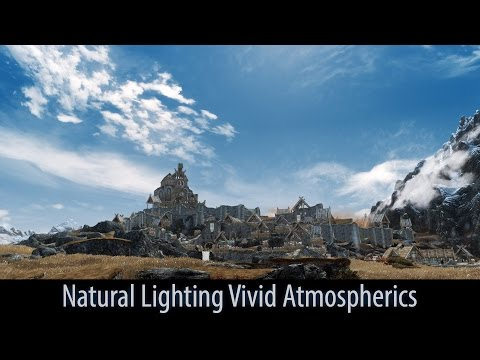 Skyrim mod spotlight 2016. Natural Lighting Vivid Atmospherics. [60FPS|1080p]
