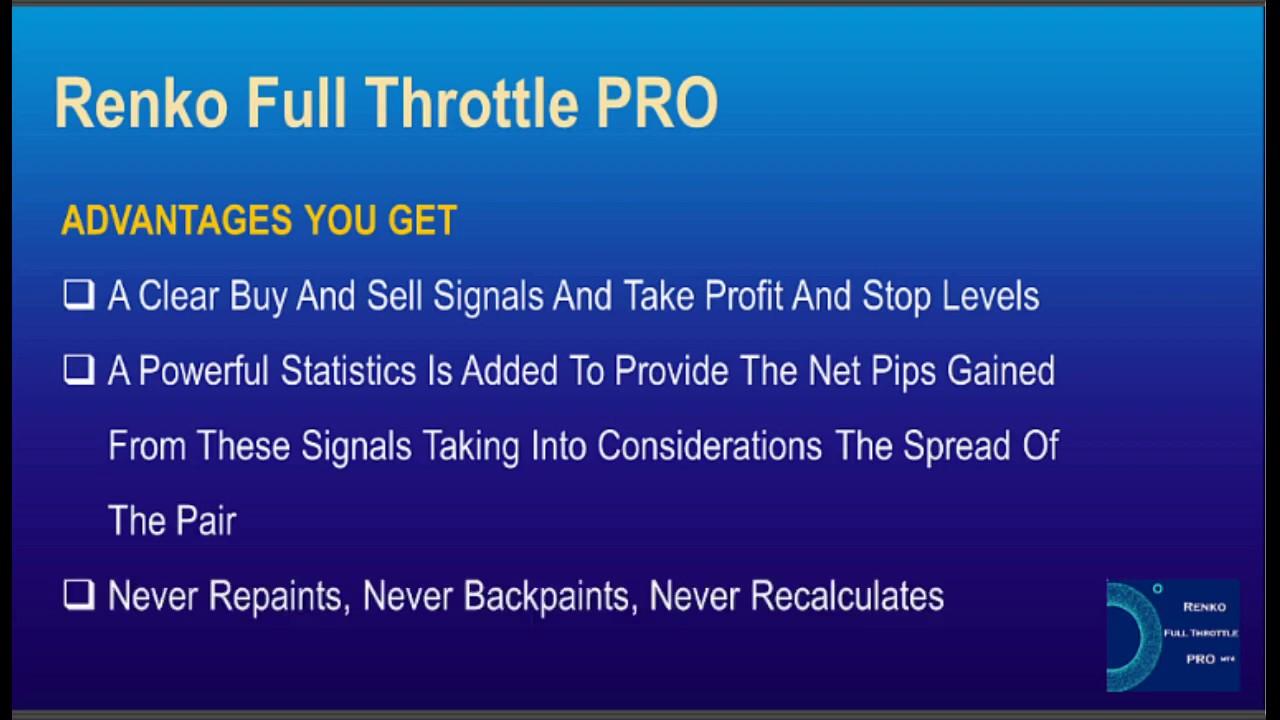 Renko Full Throttle Pro Indicator Forex Factory