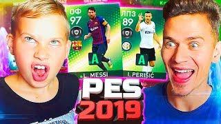 ОТКРЫЛИ ПАКИ С САНЕЙ и РВЕМСЯ В ТОП в PES 2019 myClub | Pro Evolution Soccer 19