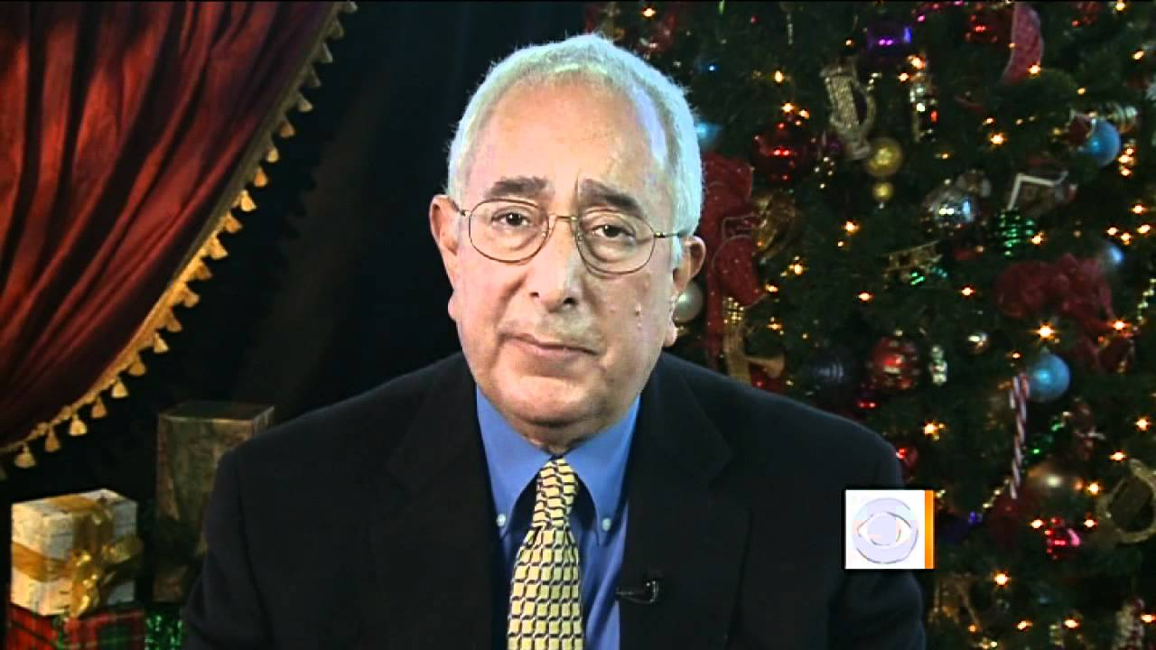 Ben Stein's unique Christmas perspective - YouTube