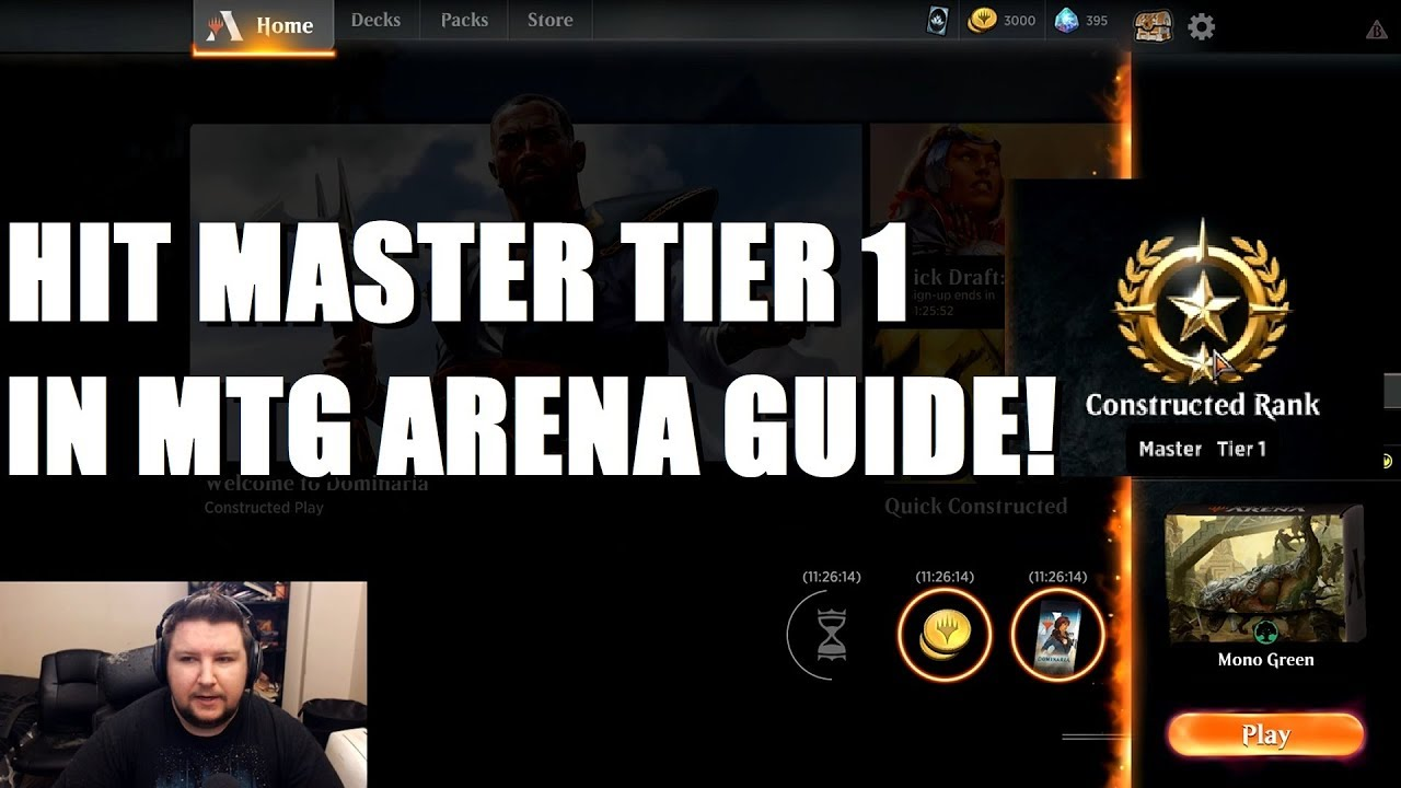 HIT MASTER TIER 1 IN MTG ARENA - Decks I Used To Climb