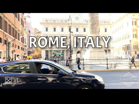 Cab Ride to the Colosseum | ROME | ITALY