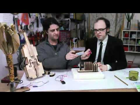 Instrument-A-Day on Make: Live ep04