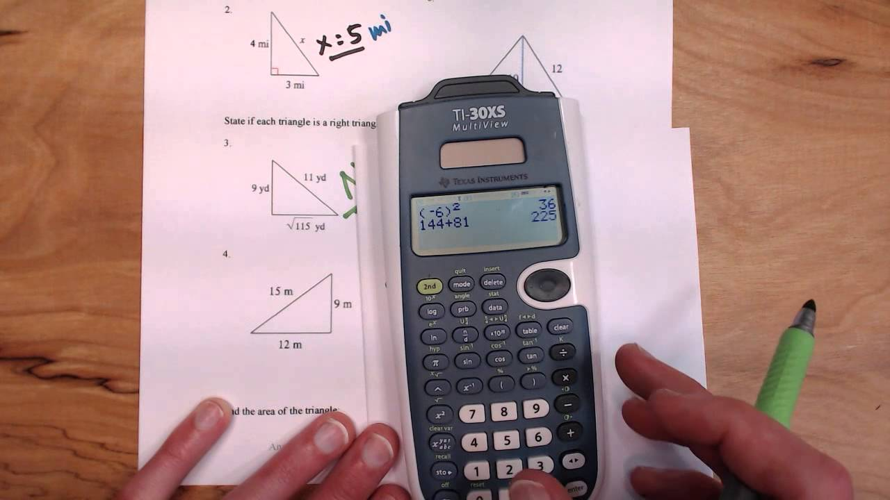Pythagorean theorem worksheet youtube pythagorean theorem worksheet robcynllc Image collections