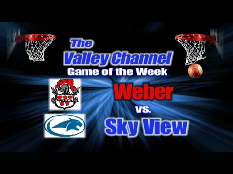 Weber High School at Sky View High School basketball game 2-7-17