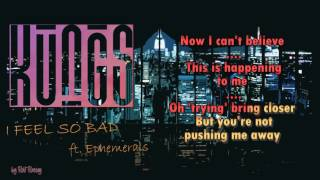 Kungs -  I FEEL SO BAD  - ft. Ephemerals Instrumental