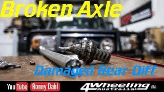Broken Axle, Damaged Rear Diff