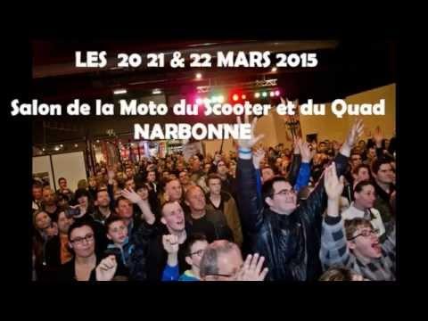Salon moto narbonne 2015 youtube for Salon de la moto narbonne